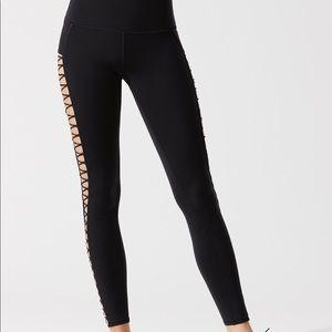 443cd86375 ALO Yoga Pants | Black Highline Laceup Legging | Poshmark